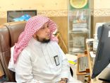 العمري يناقش آلية الأداء الوظيفي مع مسؤولي الأمر بالمعروف في مكة