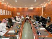 المرضي يعقد اجتماعًا باللجنة الشبابية في بارق