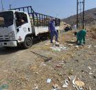 بلدية قلوة تُطلق حملة لتنظيف الأحياء السكنية