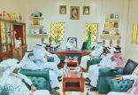 رئيس جامعة الباحة يتفقد كلية العلوم والآداب في المخواة