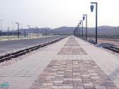 بلدية بارق تنهي أعمال تأهيل ممشى القرية التراثية