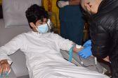 الشهري يدشن حملة الدم ضمن مبادرة (أنتم لنا درع وأمان) بالنماص