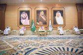 أمير الباحة يستقبل وكلاء الإمارة ومديري العموم والمحافظين