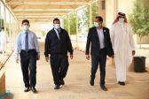 نائب مدير عام التدريب التقني والمهني في مكة يتفقد الكلية التقنية بالقنفذة