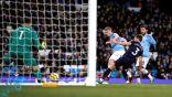 مانشستر سيتي يؤمن وصافة ترتيب الدوري الإنجليزي بالفوز على وست هام (فيديو)
