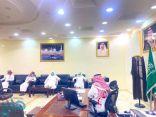 رئيس مركز ناوان يستقبل أعضاء تنمية ناوان