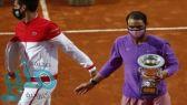 نادال يتوج ببطولة روما المفتوحة للتنس بالفوز على دجوكوفيتش