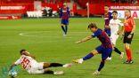 إشبيلية يفرض التعادل على نادي برشلونة في الدوري الإسباني