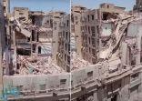 انهيار عمارة بالقاهرة وإنقاذ 18 شخصًا والبحث جار عن آخرين تحت الأنقاض – فيديو