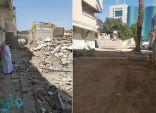 ضمن أعمال تحسين المشهد البصري .. أمانة جدة تفتح شارعين بحي البغدادية