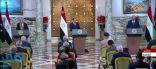 الرئيس المصري يعلن عن مبادرة سياسية لإنهاء الصراع في ليبيا