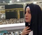 """الفنانة التونسية :لطيفة"""" تنشر صورة لها في المسجد الحرام وهي تؤدي العمرة"""
