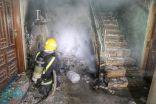 إصابة 3 أشخاص وإخلاء 63 من عمارة بسبب حريق في المخلفات بحي التيسير