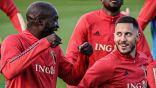 لوكاكو وهازارد يغيبان عن مباراة بلجيكا ضد إيطاليا بسبب إصابة عضلية