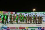 بلدية بارق بالشراكة مع تنمية بارق تقيم احتفال للأسرة والطفل باليوم الوطني ٨٩