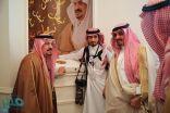 """أمير الرياض يتسلم النسخة الأولى من كتاب """" كلمات مضيئة """""""