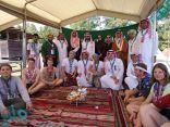 فعاليات ثقافية وشعبية سعودية بالمخيم الكشفي العالمي في أمريكا