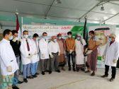 """مركز الملك سلمان للإغاثة يدشن مشروع مركز الطوارئ لمكافحة الأمراض الوقائية بـ""""حيران"""""""