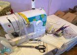 """""""المودة"""" تدرب الأسر المنتجة لتصنيع ٢٠ ألف كمامة قماشية شهرياً"""