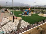 بلدية المجاردة تعيد تأهيل الحدائق بالمحافظة والمراكز التابعة لها وتستعد لاستقبال الزوار
