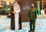 """سمو أمير الباحة يقلد مدير جوازات المنطقة رتبته الجديدة """"لواء"""""""