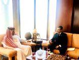 رئيس مجلس إدارة نادي الإبل يستقبل السفير الأوزبكي لدى المملكة