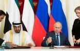 بوتين يكسر البروتوكول ويفتح باب السيارة لمحمد بن زايد