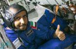 هبوط المركبة التي تقل رائد الفضاء الإماراتي هزاع المنصوري