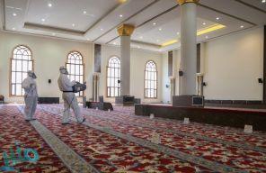 الشؤون الإسلامية تعيد افتتاح 12 مسجدا بعد تعقيمها في 6 مناطق