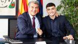 """لابورتا: تجديد عقد بيدري مع برشلونة """"أسعد"""" يوم في ولايتي الثانية"""