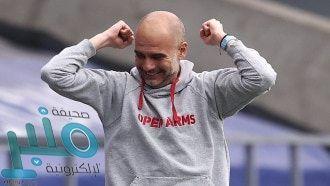 غوارديولا قبل مباراة مانشستر سيتي وتشيلسي: لا أفكر بدوري الأبطال وأرغب بحسم الدوري الإنجليزي