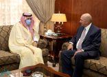 سفير المملكة لدى الأردن يلتقي رئيس مجلس الأعيان الأردني