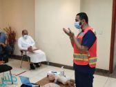 الهلال الأحمر بمكة المكرمة ينفذ عدداً من الدورات خلال شهر رمضان