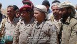 """القائم بأعمال رئيس الأركان اليمني يتفقد """"نهم"""" للاطلاع على الجاهزية القتالية"""