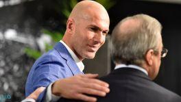 بيريز: أقسم بأحفادي أن زيدان ليس الشخص الذي كتب رسالة أسباب خروجه من ريال مدريد